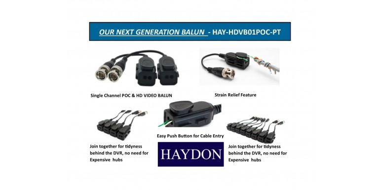 HAY-HDVB01POC-PT OUR NEWEST BALUN